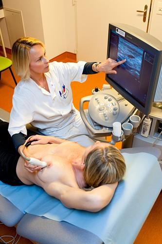 Breast ultrasound scanning