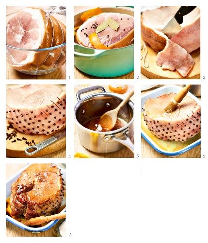 How to make roast ham