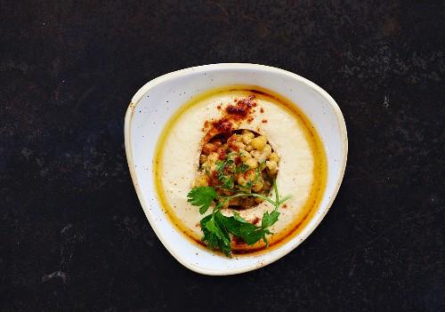 Hummus (Kichererbsenpüree, Libanon)