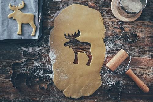 Christmas bakery, close-up