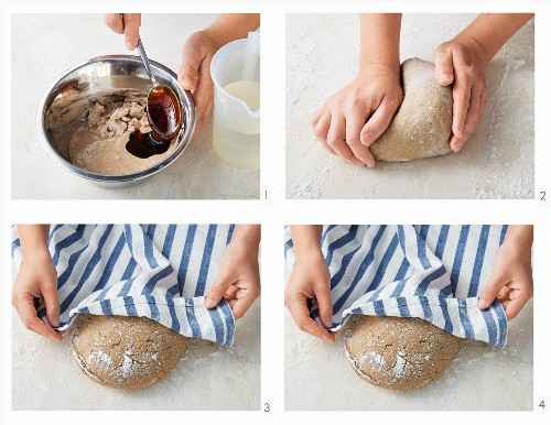 How to make sour dough bread