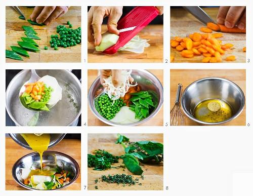 How to make vegetable salad