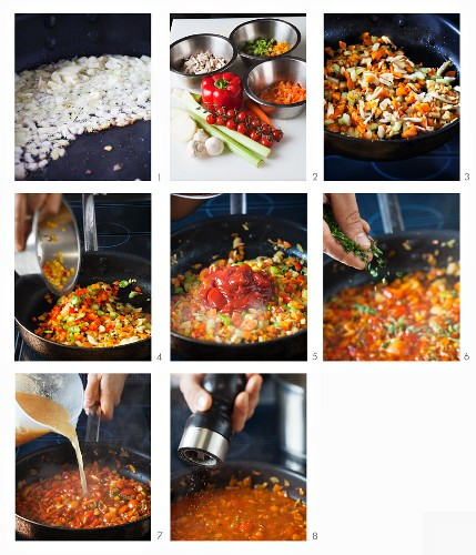 How to make vegetarian bolognese sauce