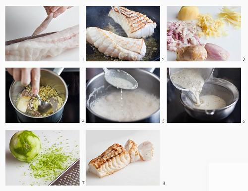 How to make monkfish with an espuma sauce