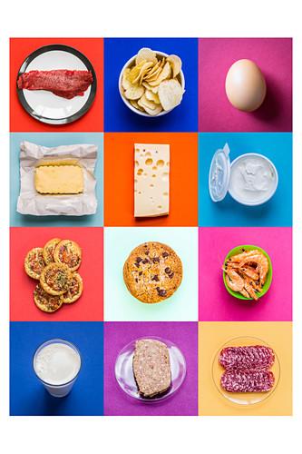 Cholesterol-rich foods