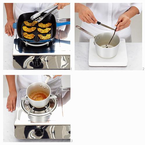 Ananas-Rum-Kuchen zubereiten