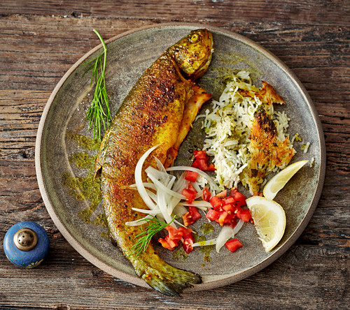 Mahi - Persian-style fried fish