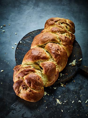 Classic yeast braid loaf