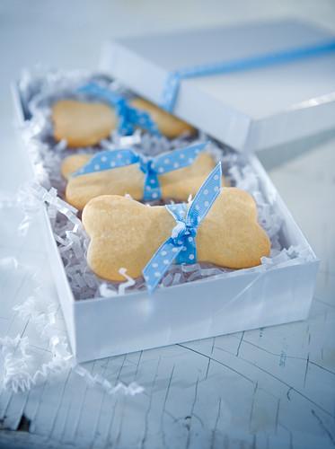 Dog Bone Cookies in Gift Box