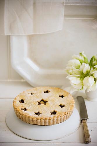 Whole mince pie