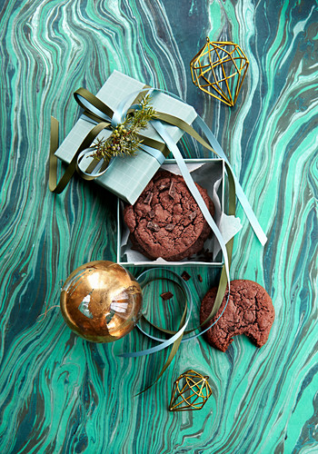 Christmas Gifts: Chocolate cookies
