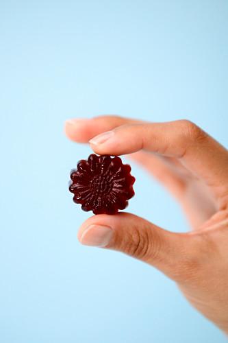 Hausgemachte Holunder-Fruchtgummis mit Holundersirup