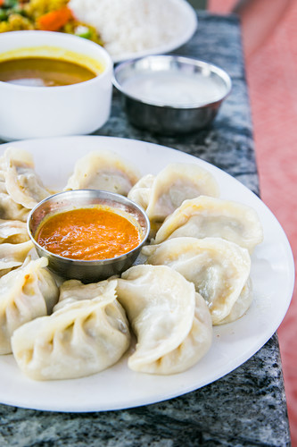 Momo (steamed dumplings, Nepal)