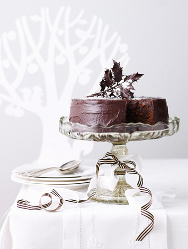 Rich Chocolate Fruit Cake