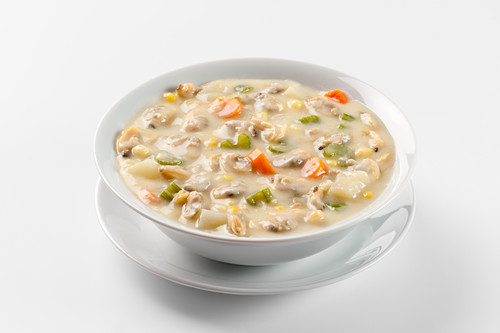 Clam Chowder (clam soup, USA)