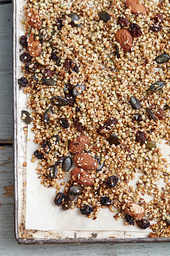 Crunch seed and nut muesli