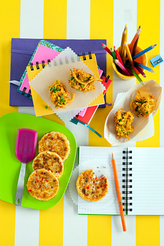 Indian Vegetable Fritters & Vegetable Cakes