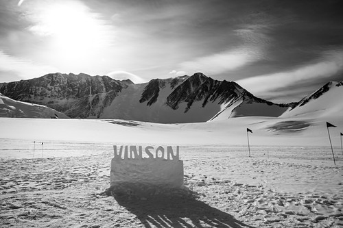 Mt Vinson Base Camp