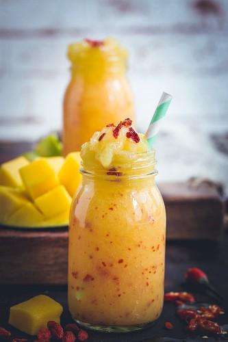 Mango and chilli smoothie