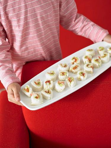 Kids Avocado & Tomato Rolls