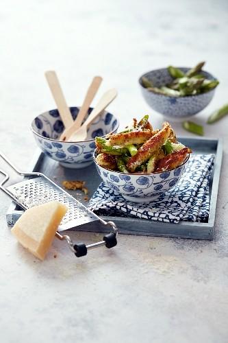 Chia-Gnocchi mit Spargel