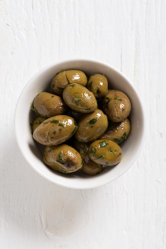 Paterno olives with parsley