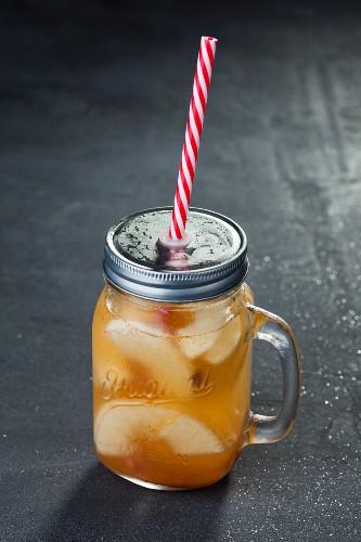Apfel-Cocktail