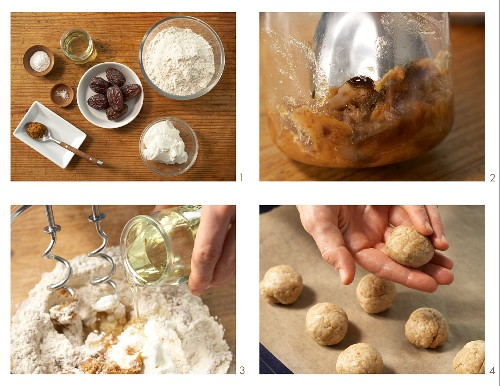 Quark rolls with dates being made