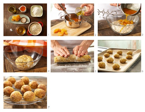 How to prepare bread rolls with apricot for children