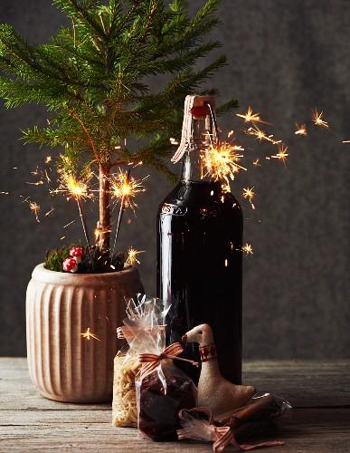 Aromatischer Glühwein zu Weihnachten