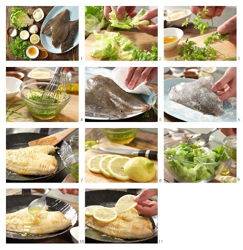 How to prepare a spring plaice