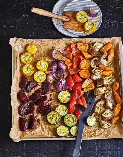 Ayurvedic roast vegetables