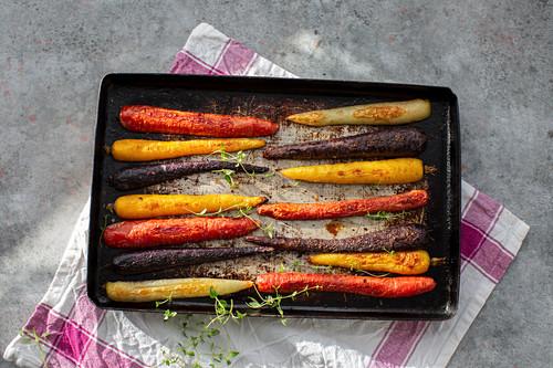Roasted carotts