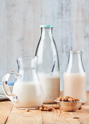 Oat Milk Rice Milk Vanilla Almond Milk
