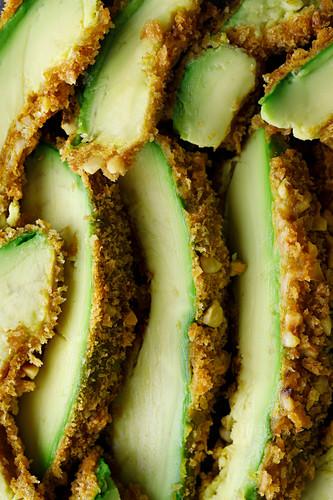 Avocado fries (close-up)