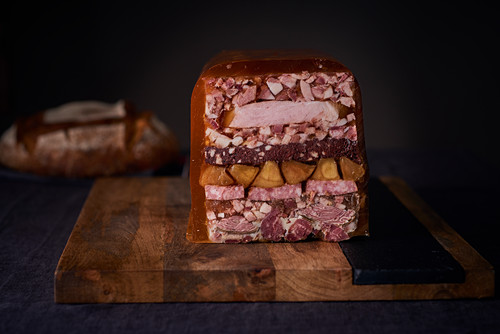 Terrine Cochone de la Tete au Pied (French pork terrine)