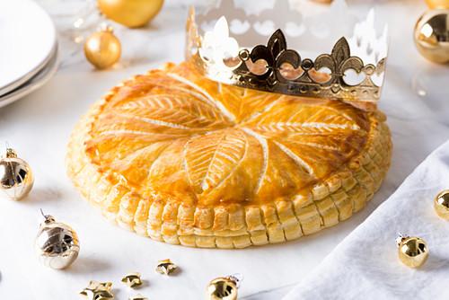 French Epiphany cake