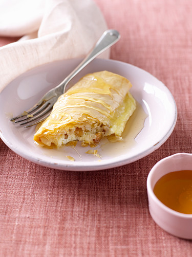 White Chocolate and Macadamia Parcels