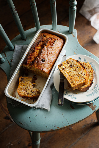 Sweet potato cake with rosemary