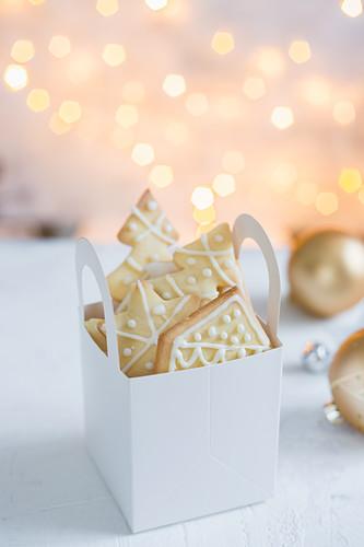 Christmas cookies as gift