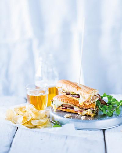 Cuban pressed sandwiches