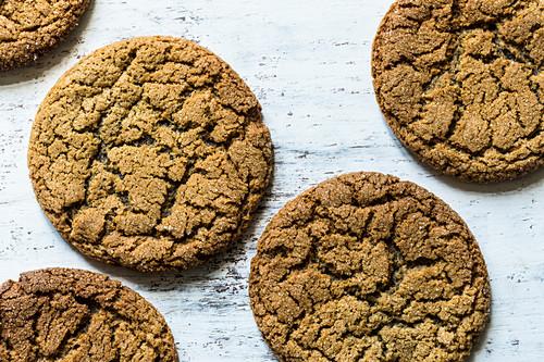 American ginger molasses cookies