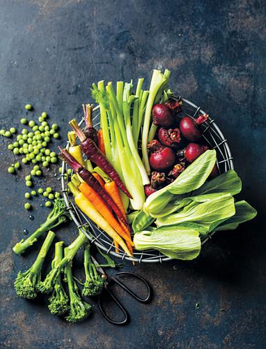 Baby vegetables