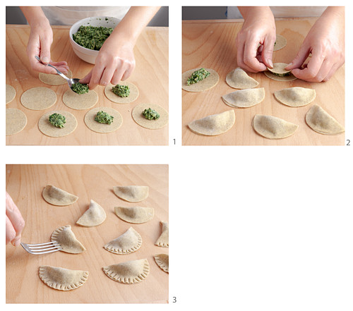 How to make Schlutzkrapfen