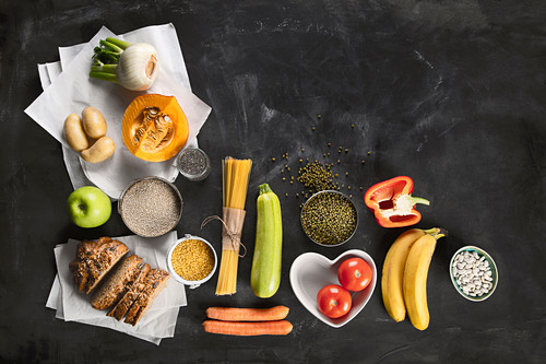 Carbohydrate-rich foods