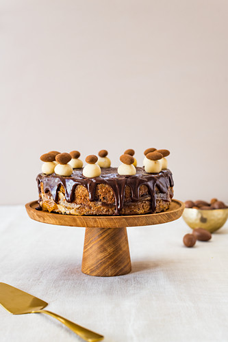 Chocolate Simnel Cake for Easter