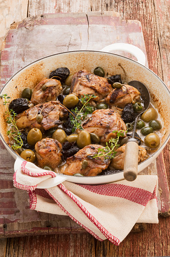 Chicken and olive casserole