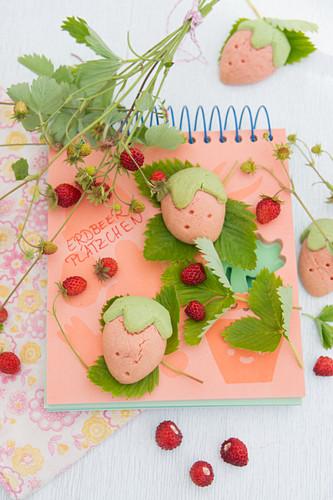Wild strawberry Cookies