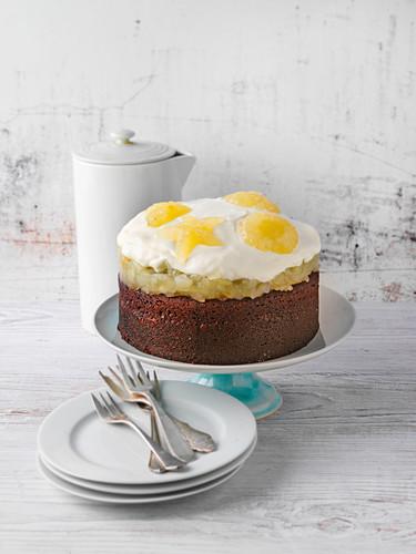 Altbier chocolate cake