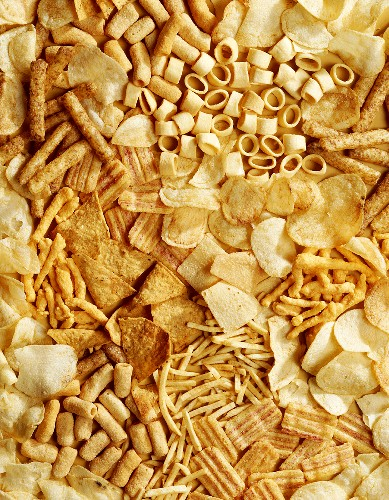 Several Types of Snack Food